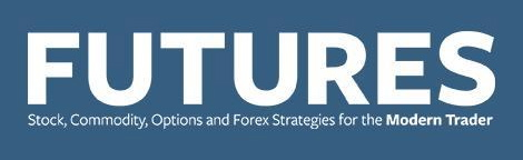 Futures stock, commodity, options and forex strategies trader logo